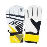 Перчатки вратарские Ux Precision Glove 20533U, белый/черный/желтый