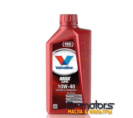 Моторное масло Valvoline Maxlife 10W-40 (1л.)