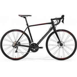 Велосипед Merida SCULTURA Disc 500 Silk Black (Red) 2019, интернет-магазин Sportcoast.ru