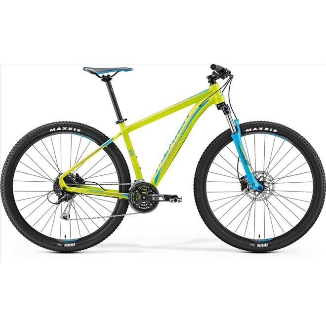 Велосипед Merida Big Nine 100 Matt Lime/Blue (2017), интернет-магазин Sportcoast.ru