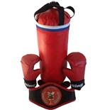 Набор боксерский (мешок 40см, перчатки, пояс чемпиона)