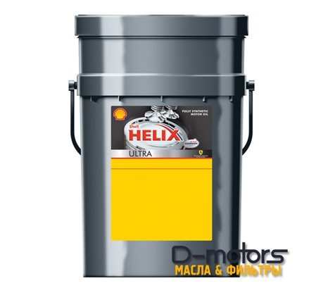 Моторное масло Shell Helix Ultra 5w-40 (20л.)