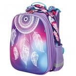 Ранец для девочек Юнландия Extra Feathers 17 л 227841
