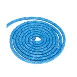 Скакалка для художественной гимнастики RGJ-103 pro, 3 м, синий с люрексом