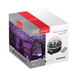 Колонка со светомузыкой Vegas Шар Диско 6 LED d18 см с пультом 220V 55106