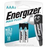 Батарейки алкалиновые Energizer Max Plus LR03 (AAA) 2 шт E301306501