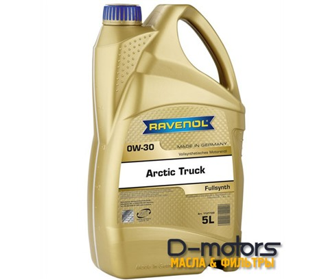 Моторное масло Ravenol Arctic Truck  0W-30 (5л.)