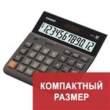 Калькулятор настольный Casio DH-12-BK-S-EP 12 разрядов 250386