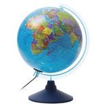 Глобус политический Globen Классик Евро d250 мм с подсветкой Ке012500190