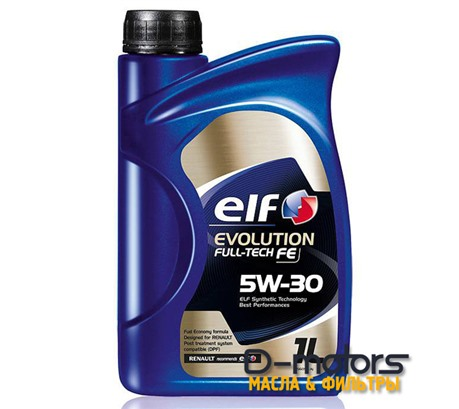 Моторное масло ELF Evolution Fulltech FE 5W-30 (1л.)