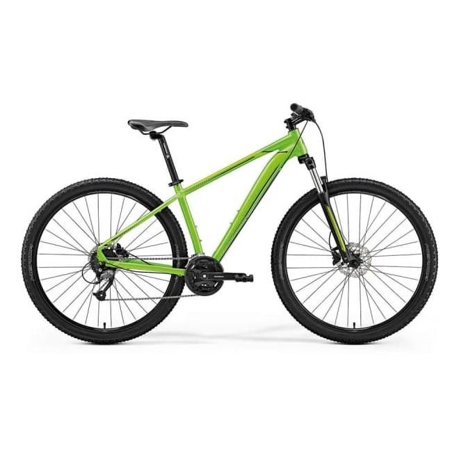 Велосипед Merida Big Nine 40-D Lite Green (Black) 2019, интернет-магазин Sportcoast.ru