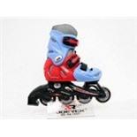 Роликовые коньки JOEREX RO0603 (синий/красный) (р.33-36)