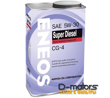 Моторное мало Eneos Super Diesel Semi-Synthetiс 5w-30 (1л.)