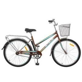 """Велосипед Stels Navigator 26"""" 210 Lady V010 Золотистый/Бирюзовый (с корзиной) , интернет-магазин Sportcoast.ru"""