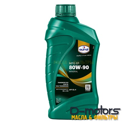 Трансмиссионное масло Eurol MPG SAE 80W-90 GL4 (1л.)