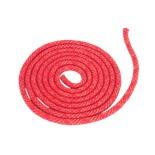 Скакалка для художественной гимнастики RGJ-103 pro, 3 м, красный с люрексом