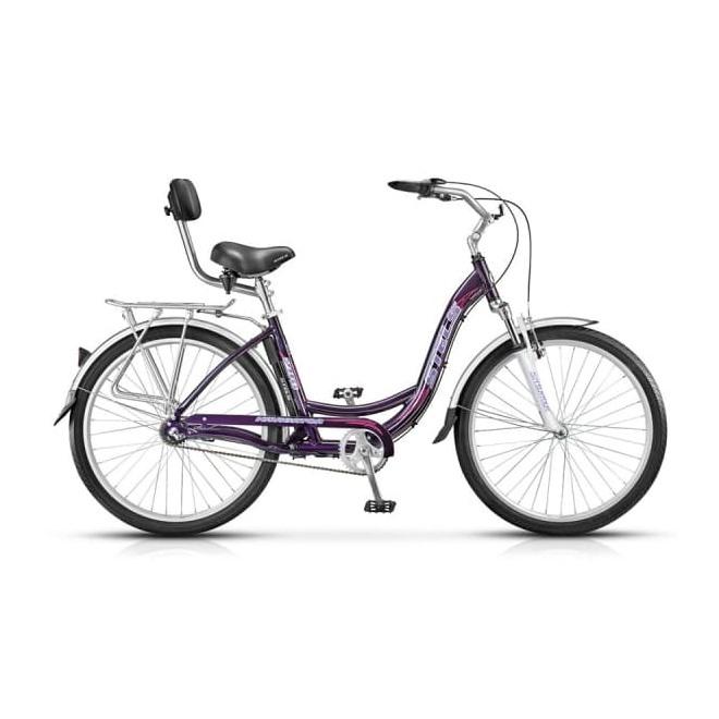 Велосипед Stels Navigator 290 Фиолетовый, интернет-магазин Sportcoast.ru