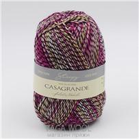 Пряжа Stripy Mouline цвет 569, 210м/50г, Casagrande